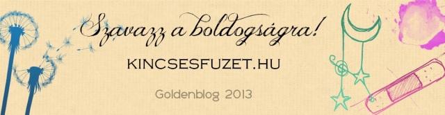 Kincsesfüzet Goldenblog 2013