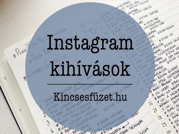 Instagram kihívások